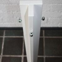 Koppelstuk T-vorm om drie paneel te koppelen